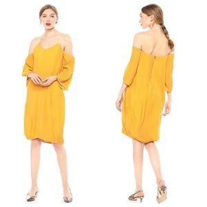 REVOLVE ELLIATT Marigold Off Shoulder Dress